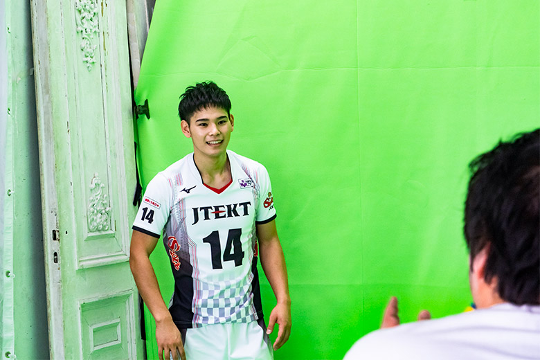 バレーボールネーションズリーグ日本男子代表 西田 有志選手